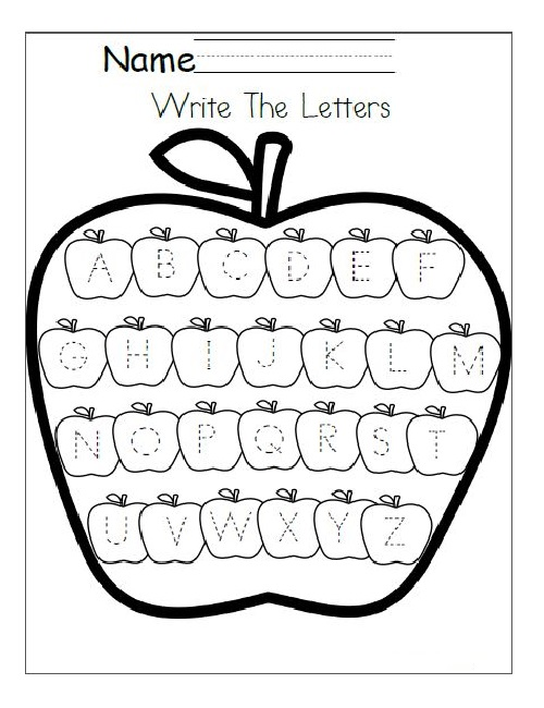 Editable Free Traceable Alphabet Worksheets