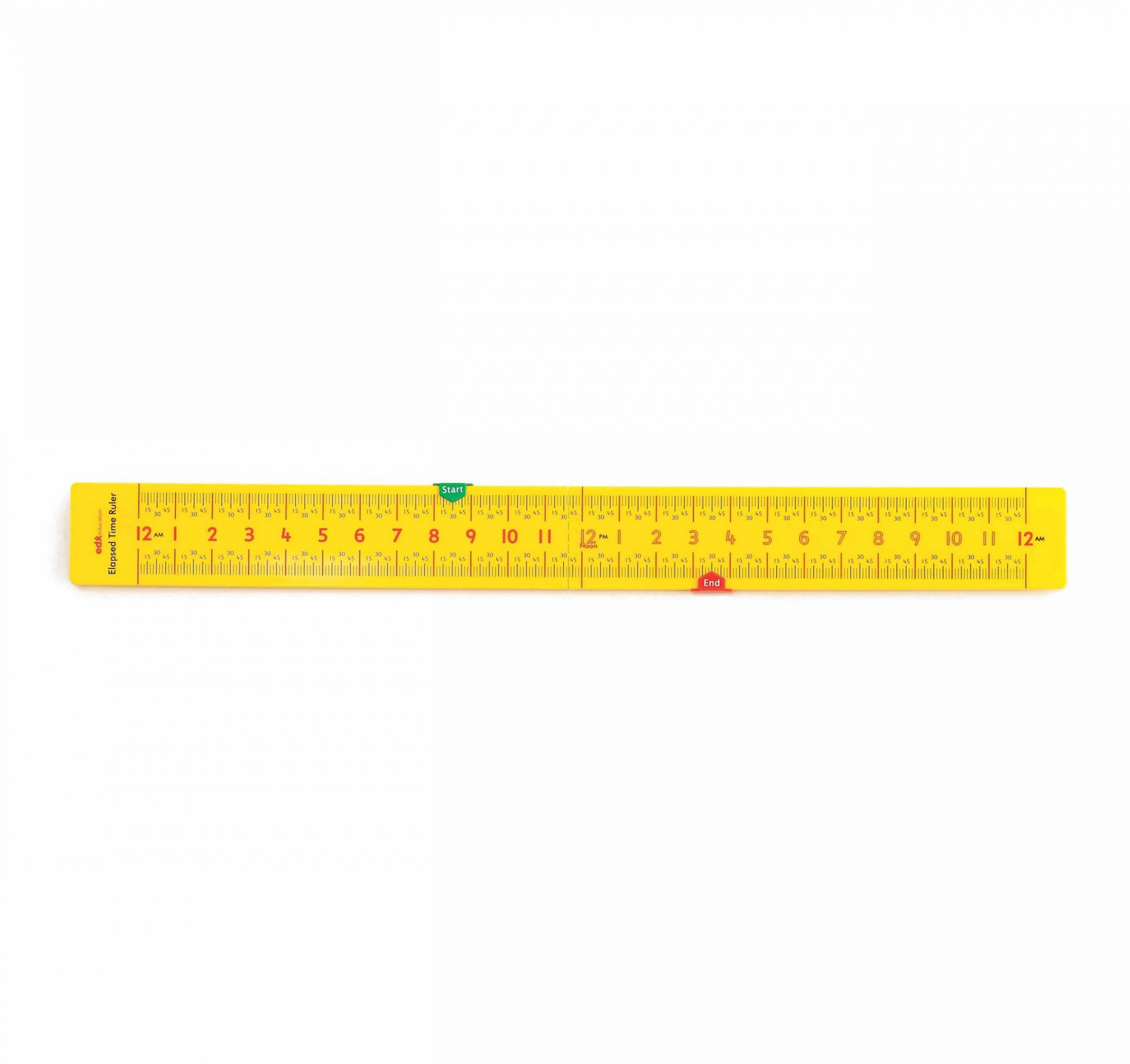 Elapsed Time Ruler for Kids