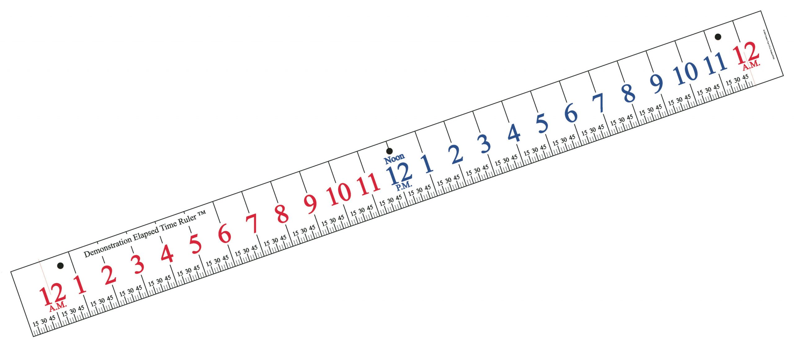 Learn Elapsed Time Ruler