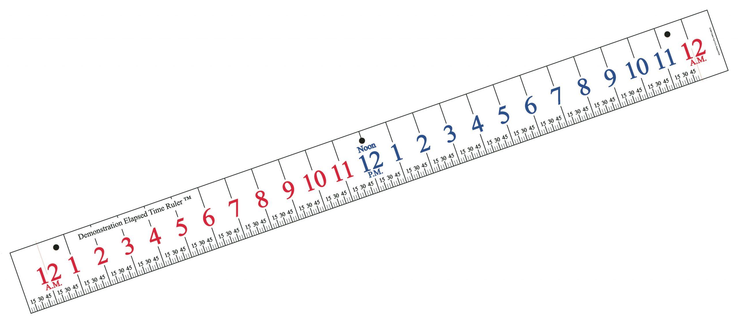 Learn Elapsed Time Ruler