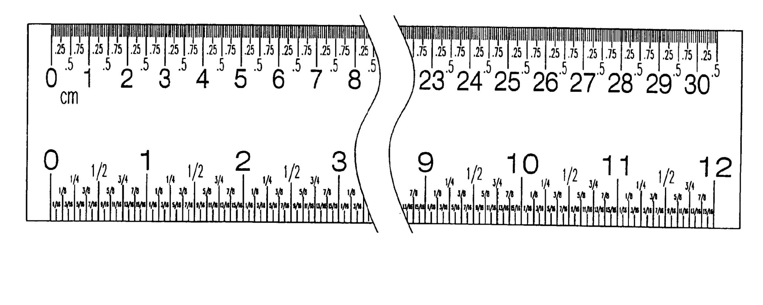 Printable Elapsed Time Ruler