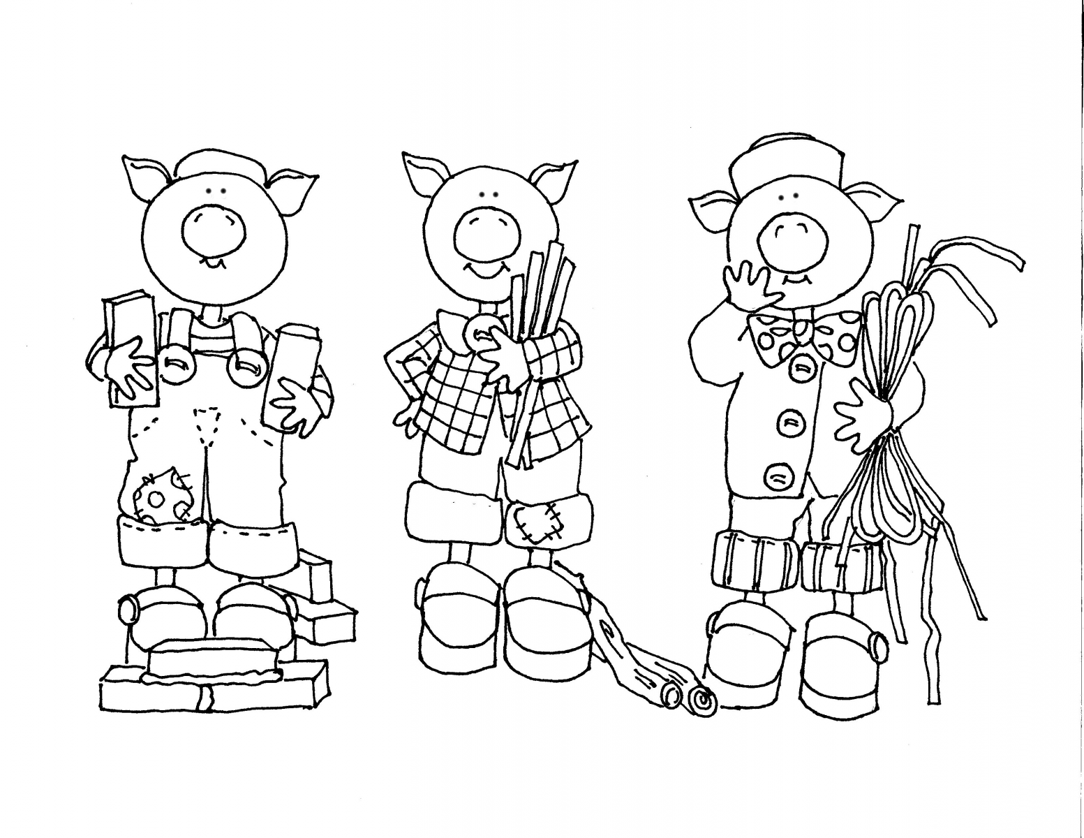 The Three Little Pigs Worksheets Printables
