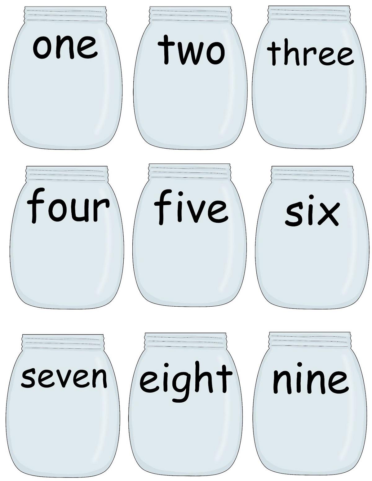 Write Pre K Worksheets Numbers
