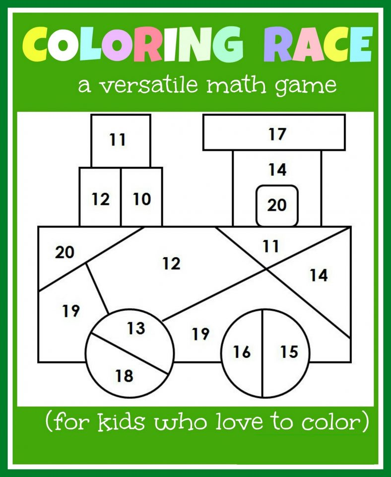 Free Worksheets For 4 Year Olds