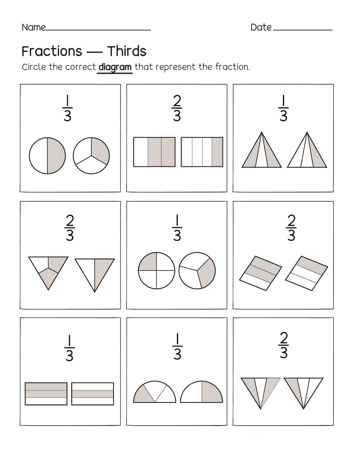 Fractions Fun Decimal Worksheets