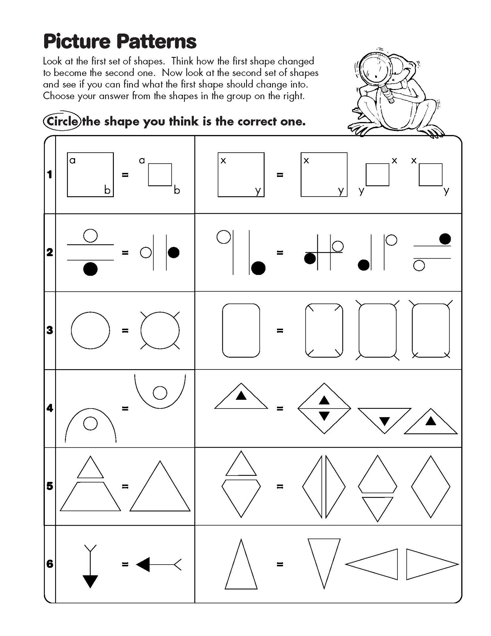 Printable Free Analogy Worksheets