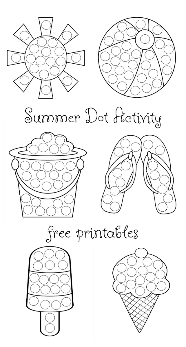 Summer Worksheets For 2 Year Olds