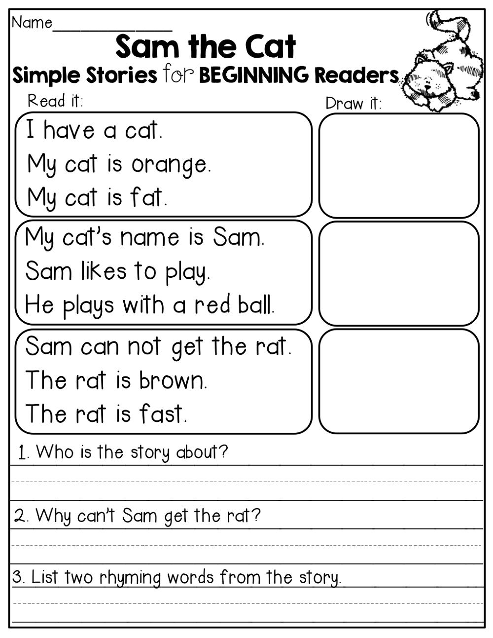 english free elementary worksheets