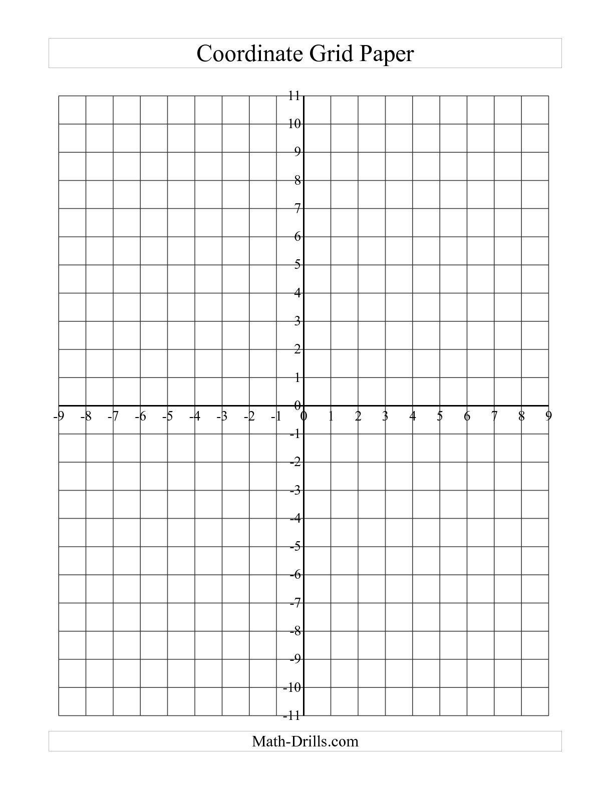free math grids worksheets