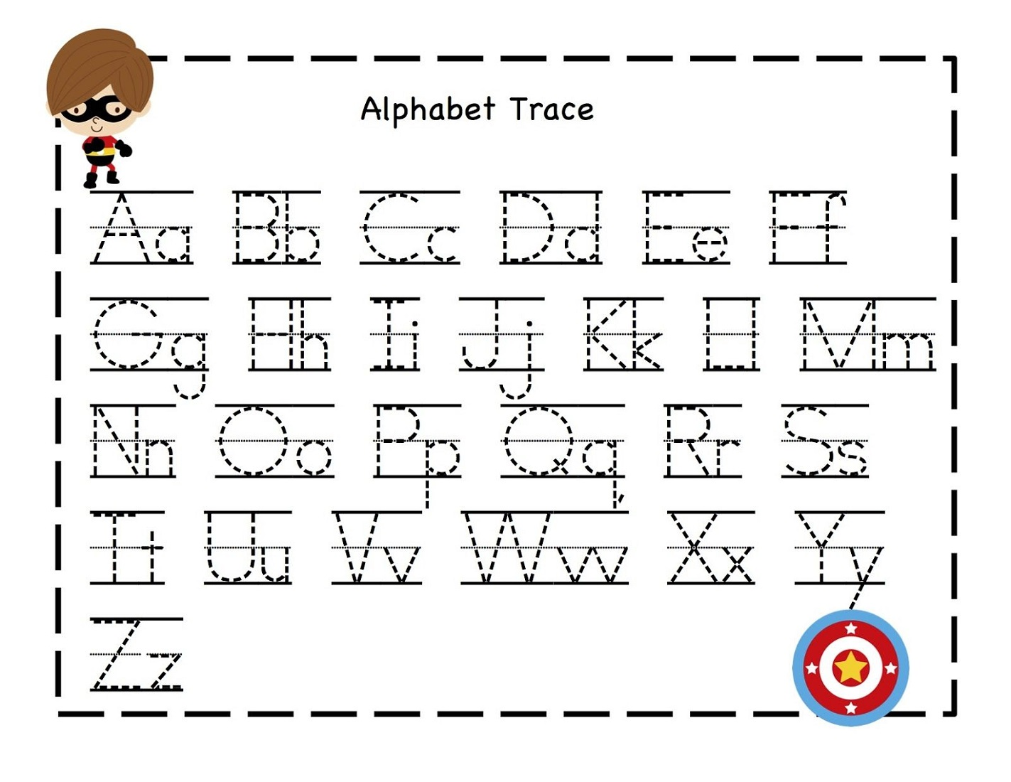 fun abc tracer pages