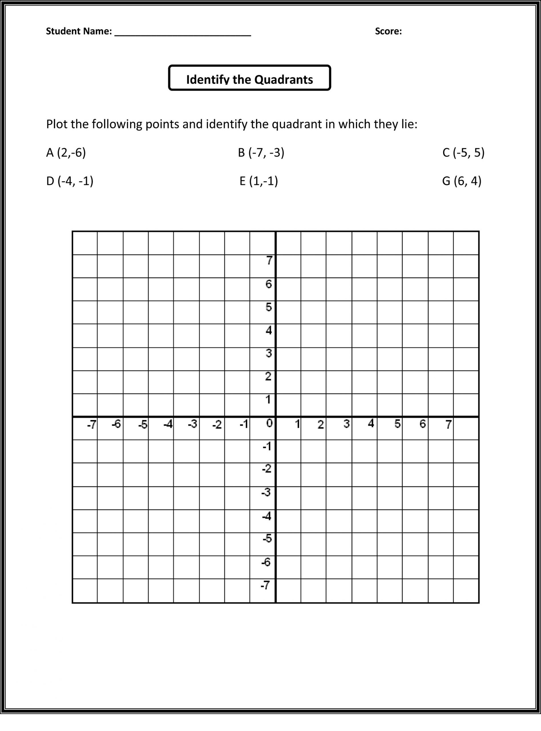 learning math grids worksheets
