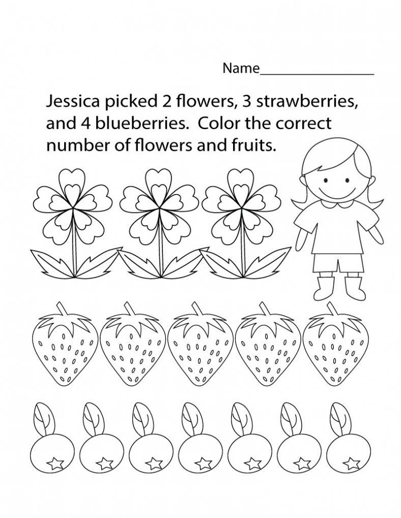 coloring free educational worksheets