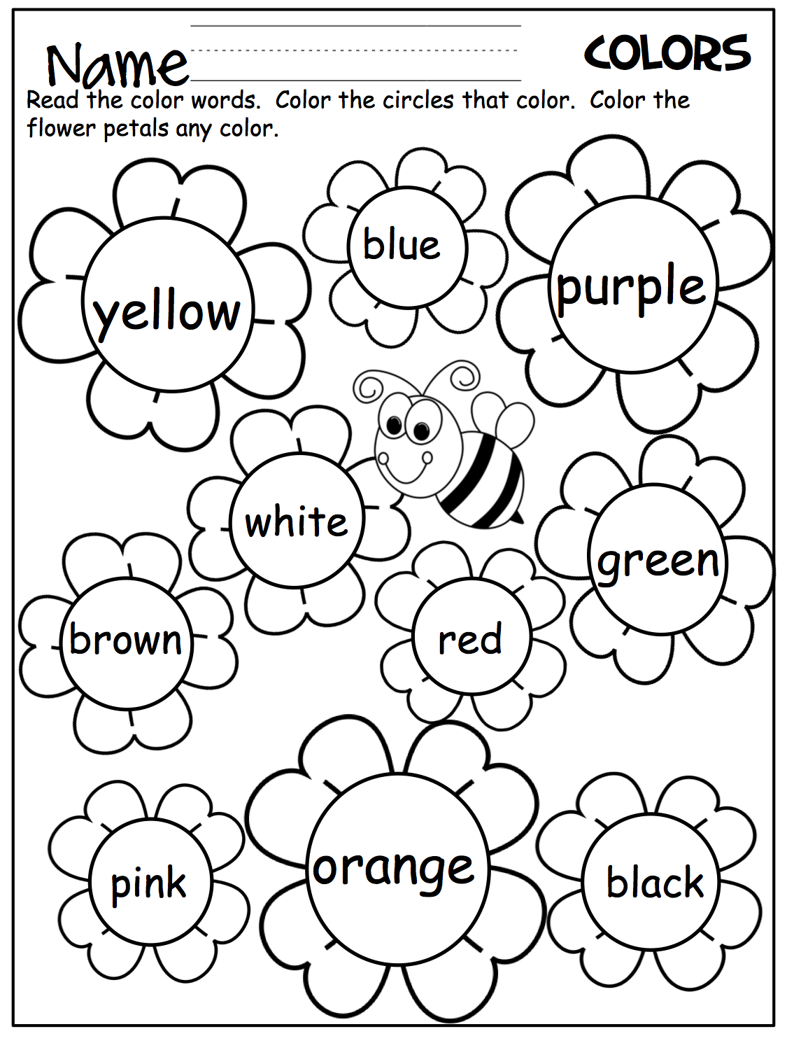 coloring toddler learning activities printable free