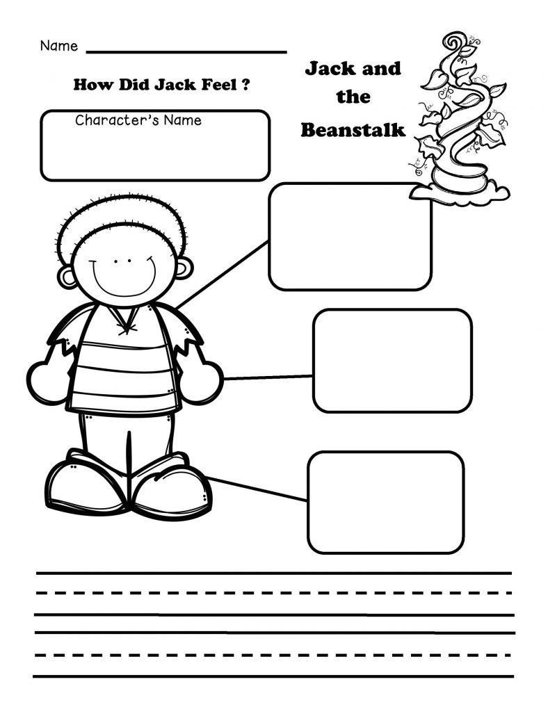 free jack and the beanstalk worksheets