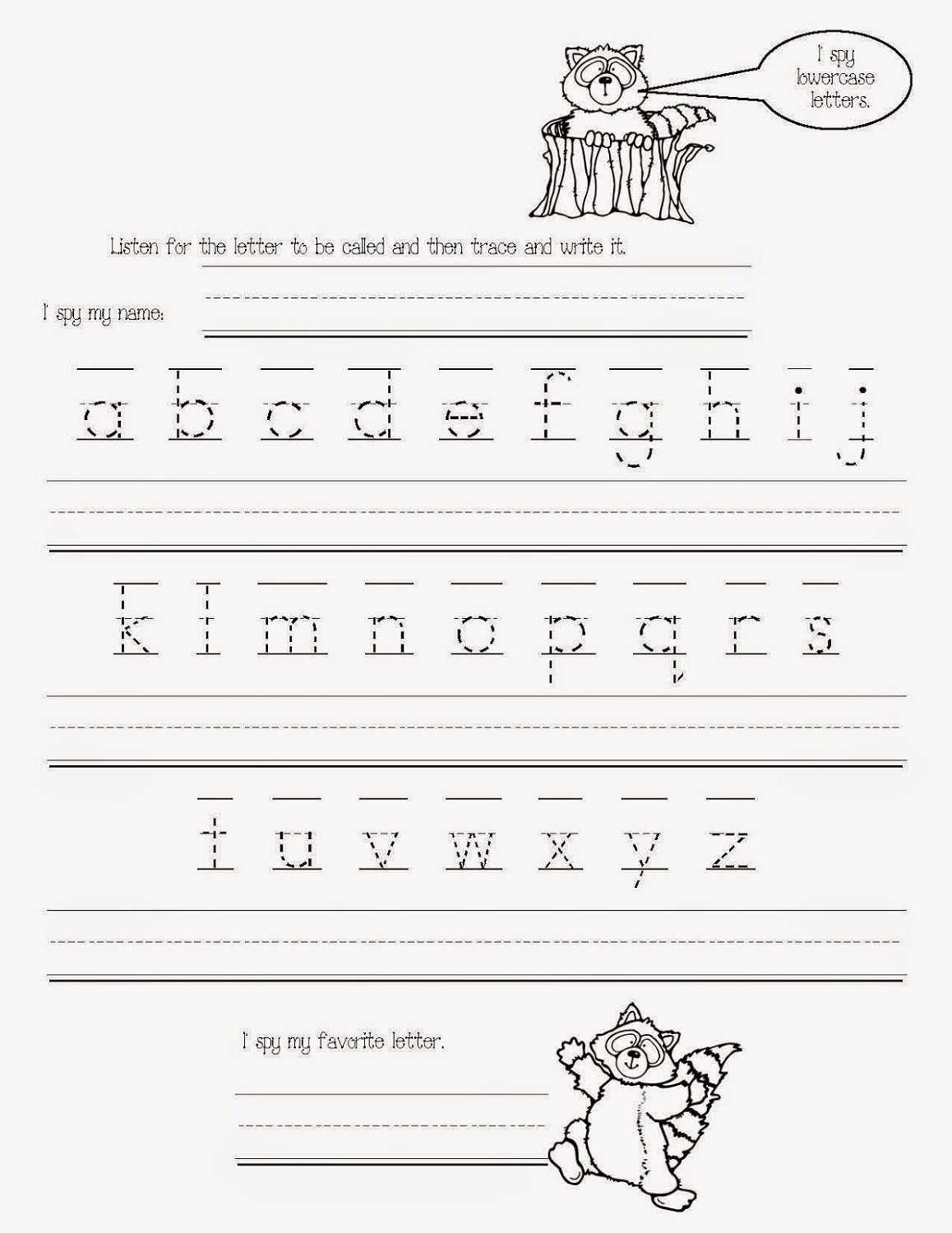 free traceable alphabet worksheets to print