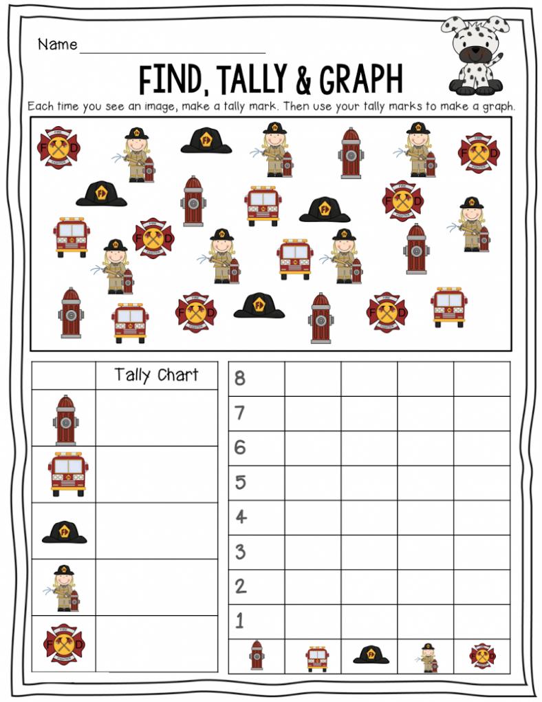 tally charts worksheets fun
