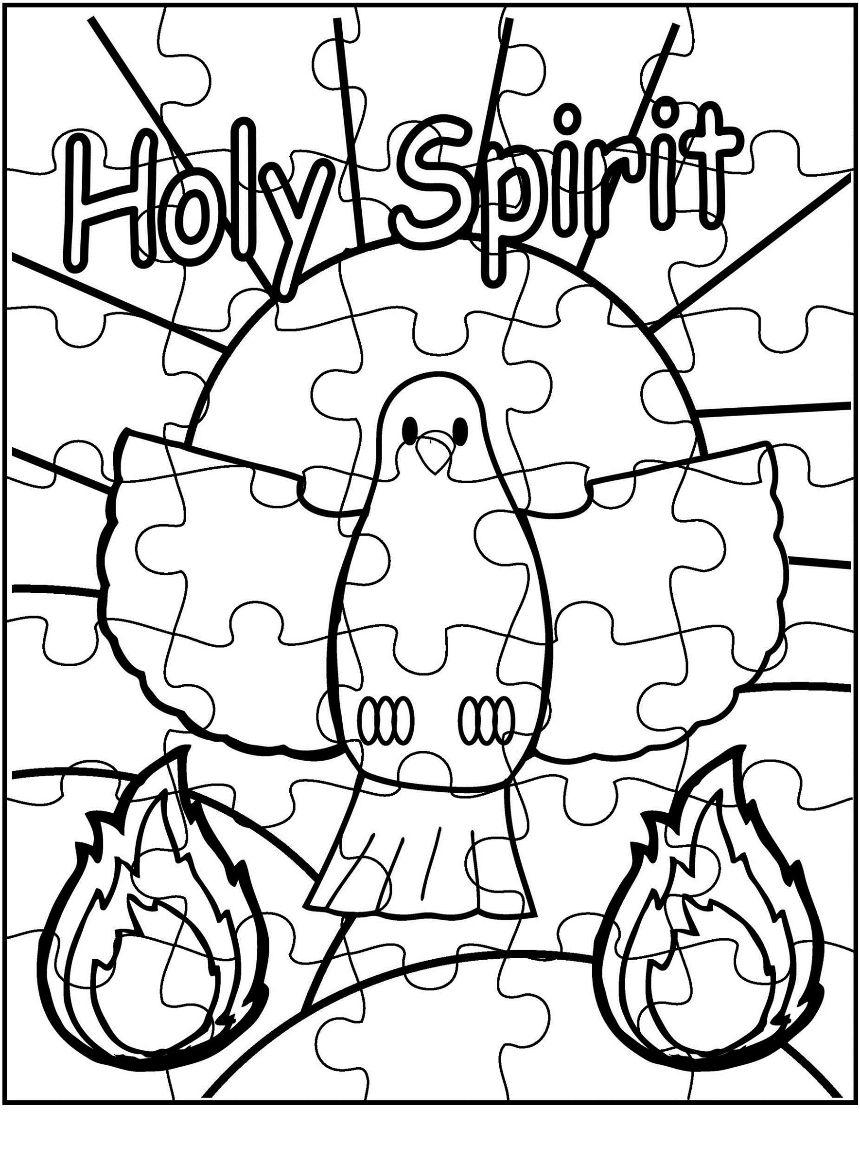 activity coloring puzzles for kids