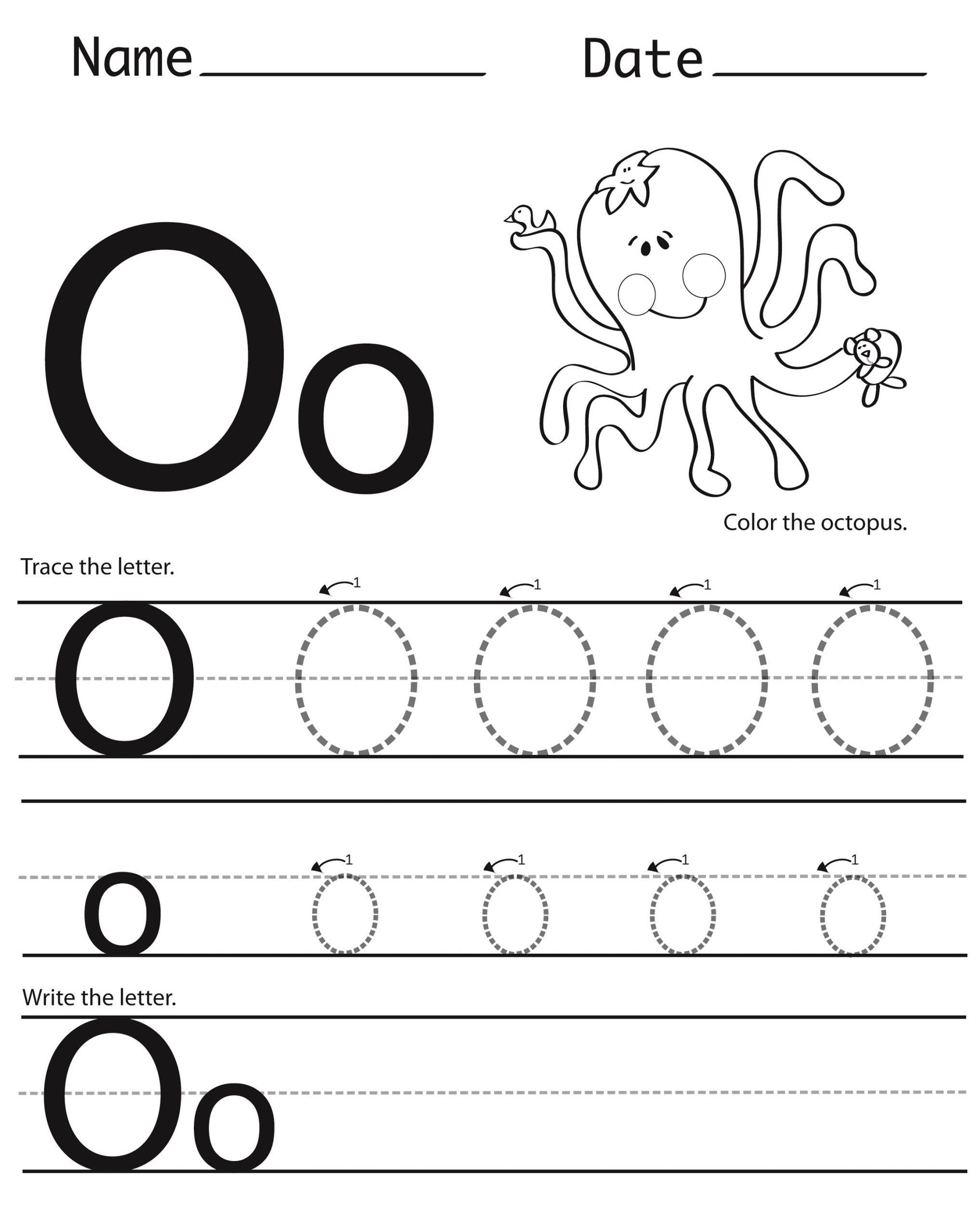 capital letter worksheets for kids