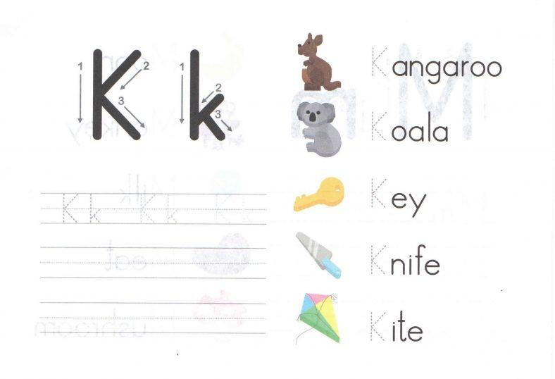 capital letter worksheets for learning