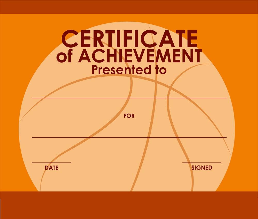 editable free basketball certificates