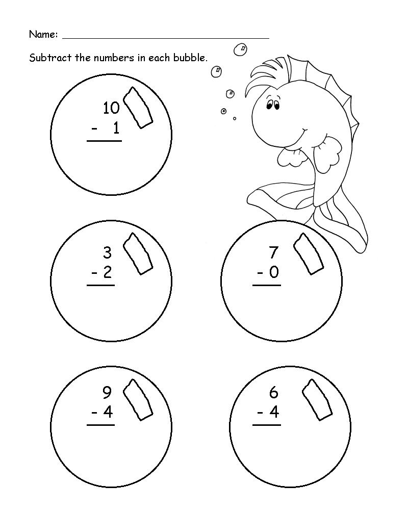free fun math worksheets for grade 1
