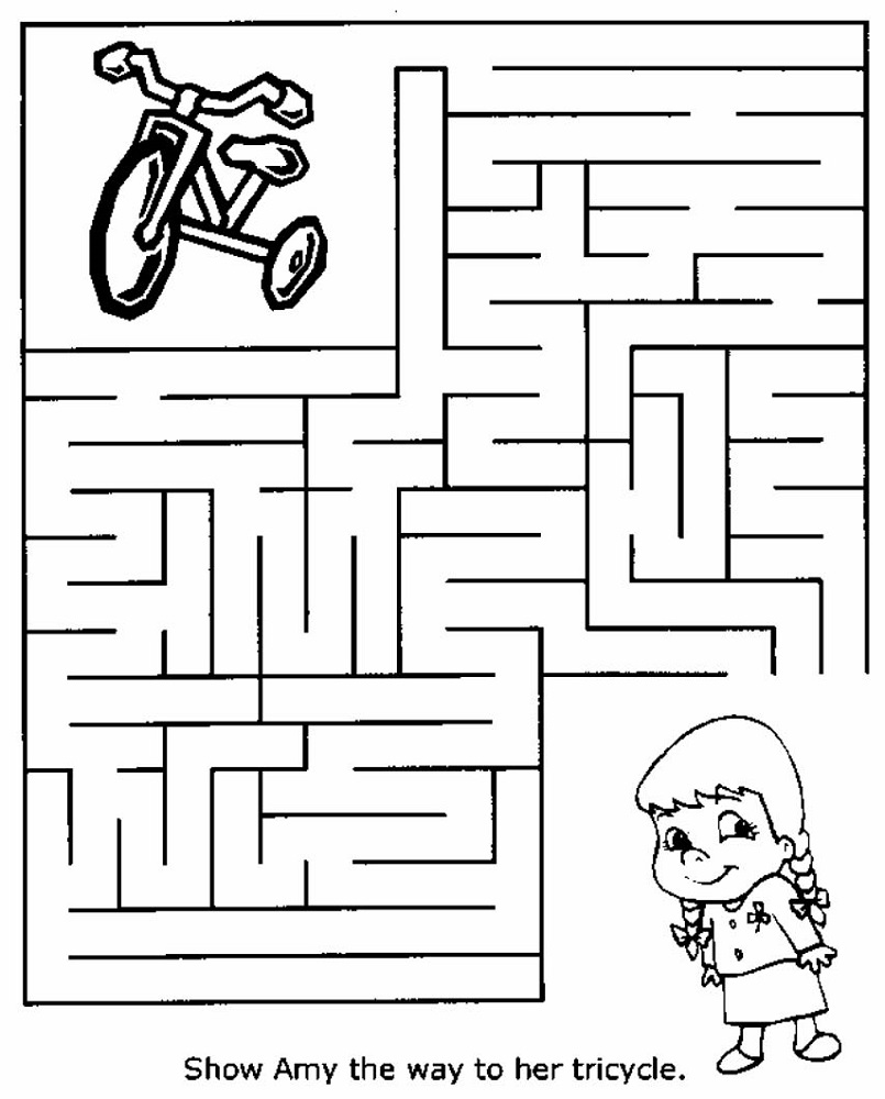free fun mazes for kids