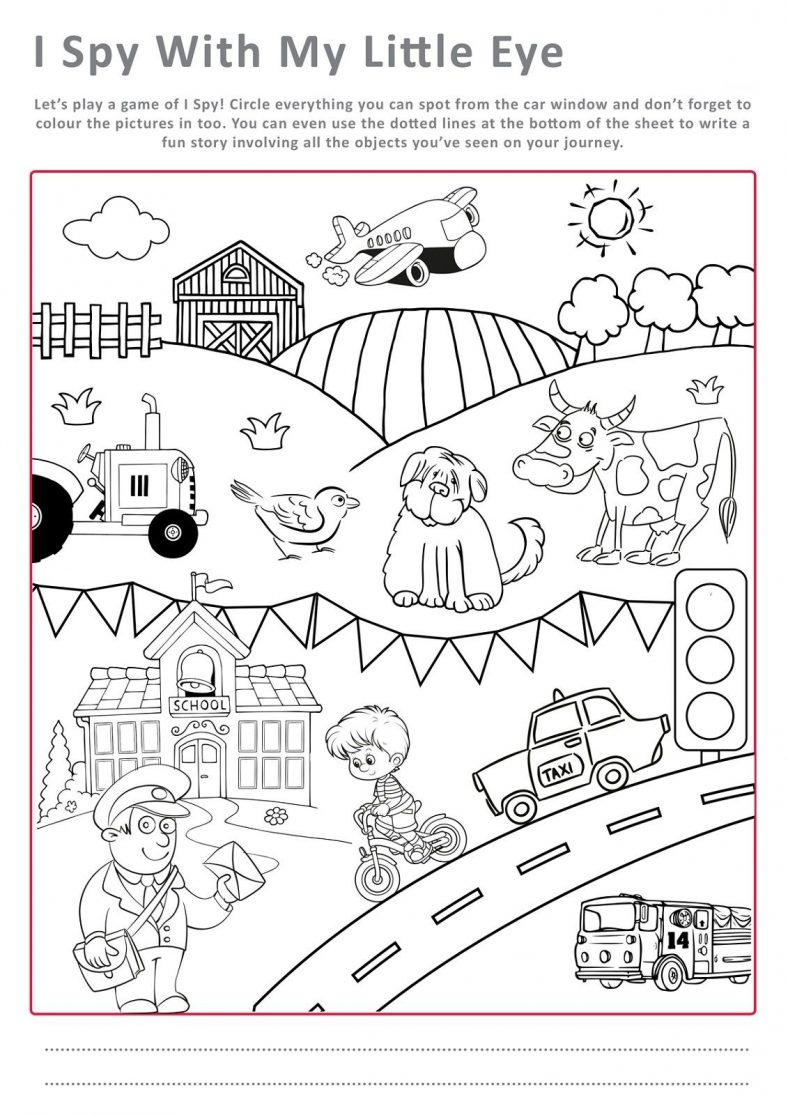 fun free activity pages for kids