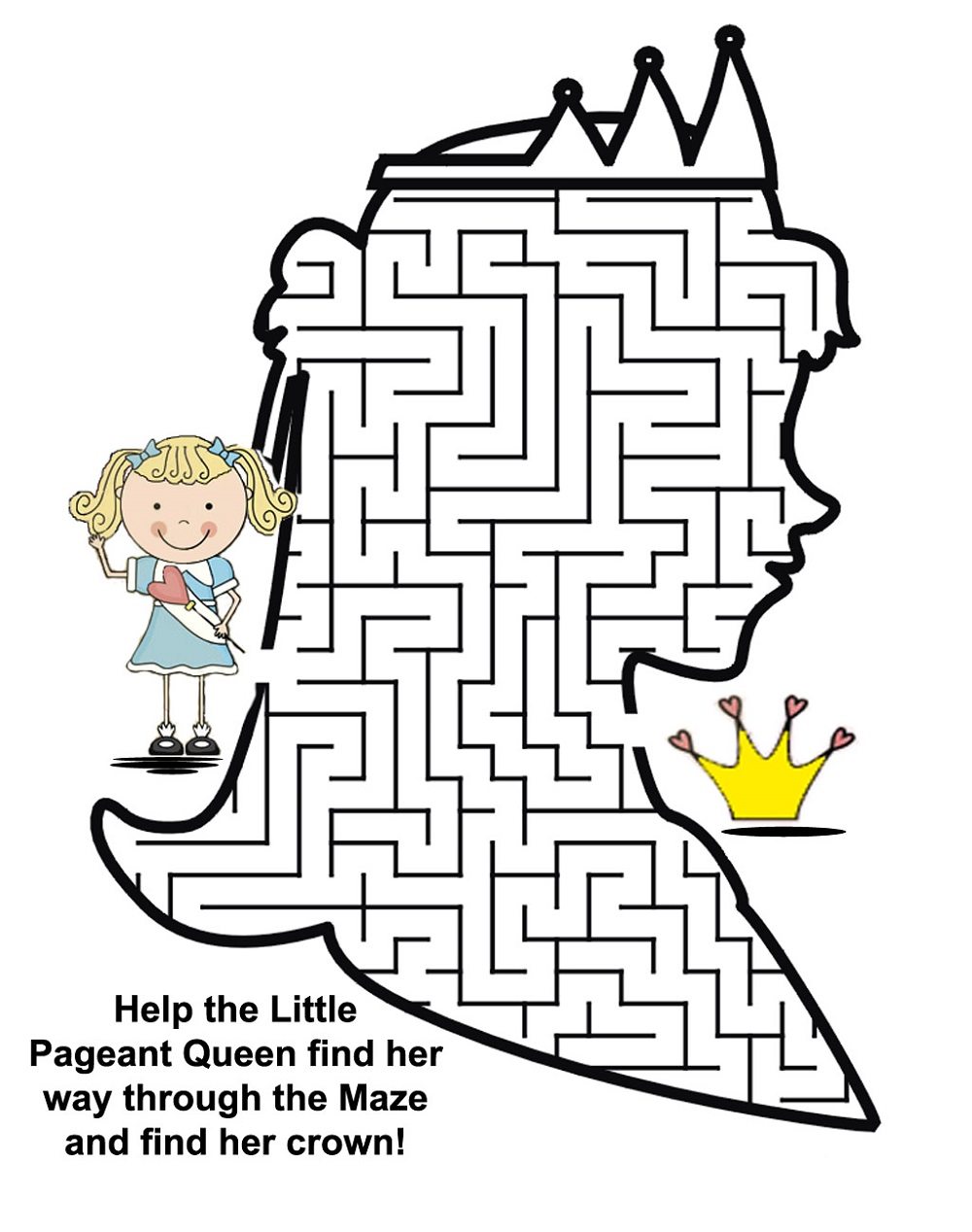 printable fun mazes for kids