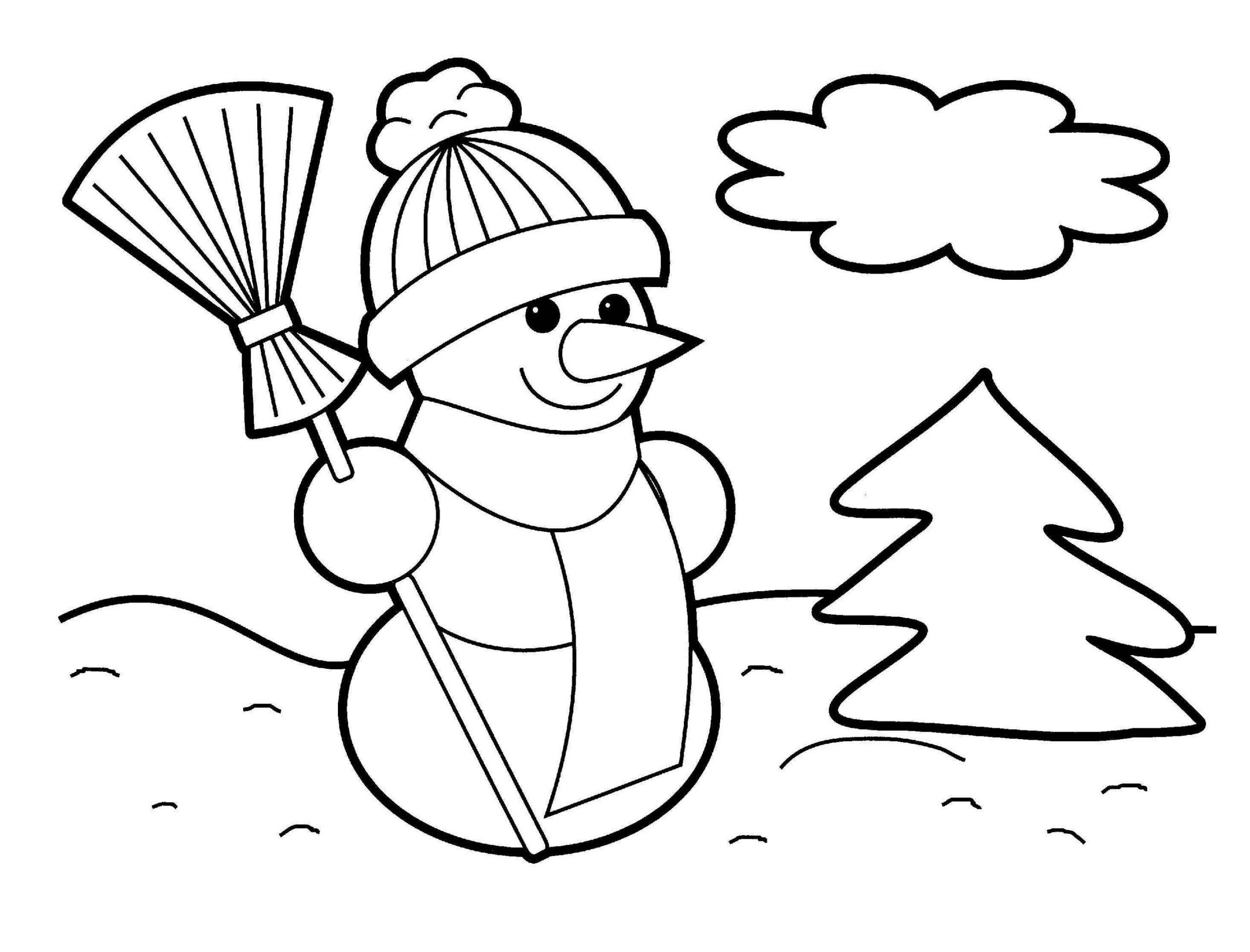winter free printable activities for preschoolers