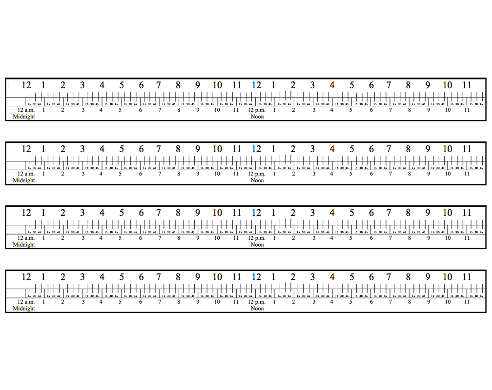 elapsed time rulers for learning