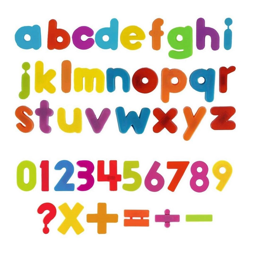 free letters and numbers for kids