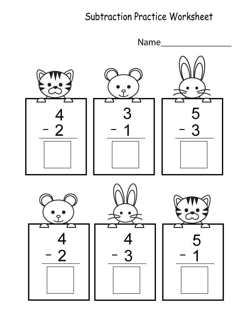 math quiz worksheet for kids