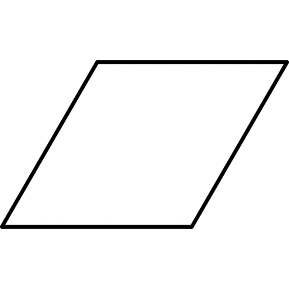 pictures of rhombus shapes example